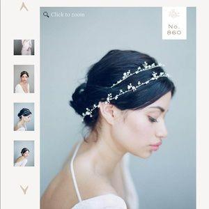 Twigs & honey Dainty & delicate crystal hair vine